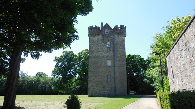 Alloa Tower - Once the home of the Earls of Mar. A well preserved tower house.