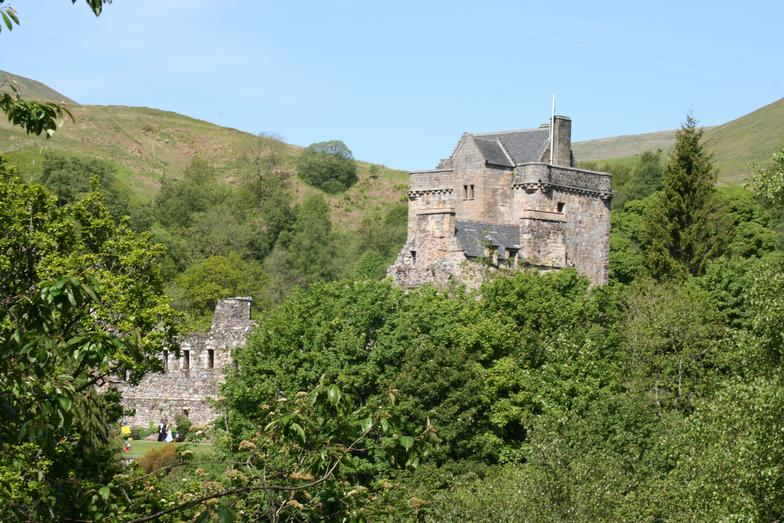 Castle Campbell in Dollar - Well worth the hike up the hill. Stunning views!