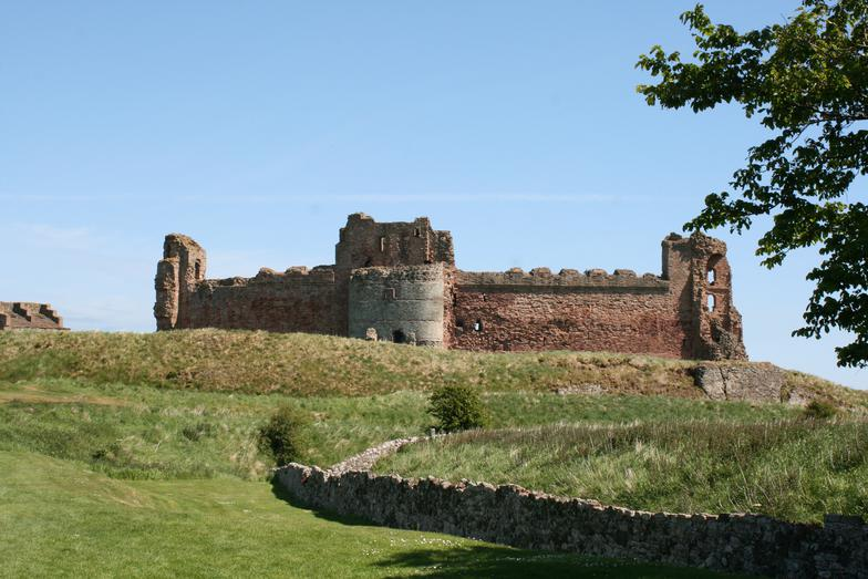 Tantallon Castle, North Berwick, Scotland