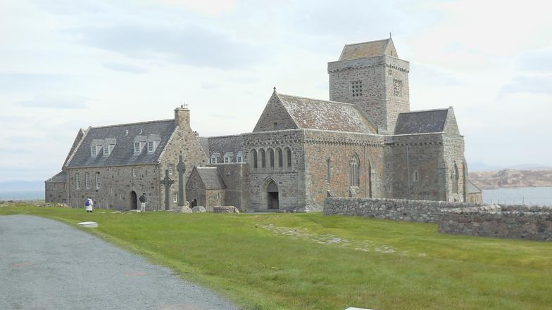 ona Abbey - Worth the long trip to get to the island!