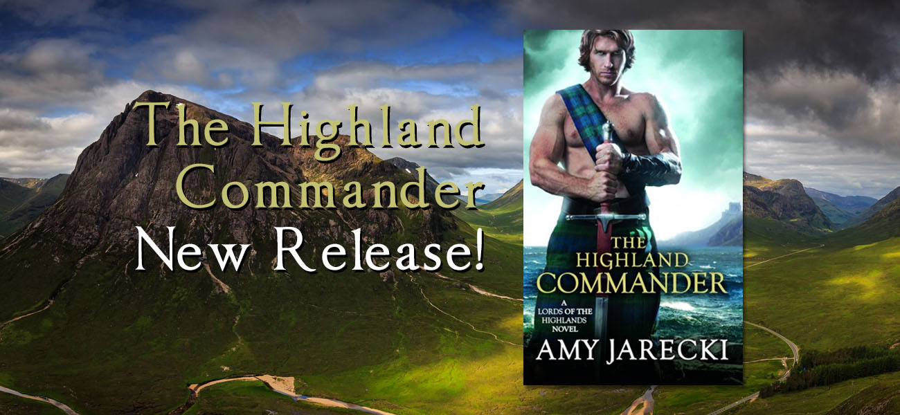 The Highland Commander Book by Amy Jarecki